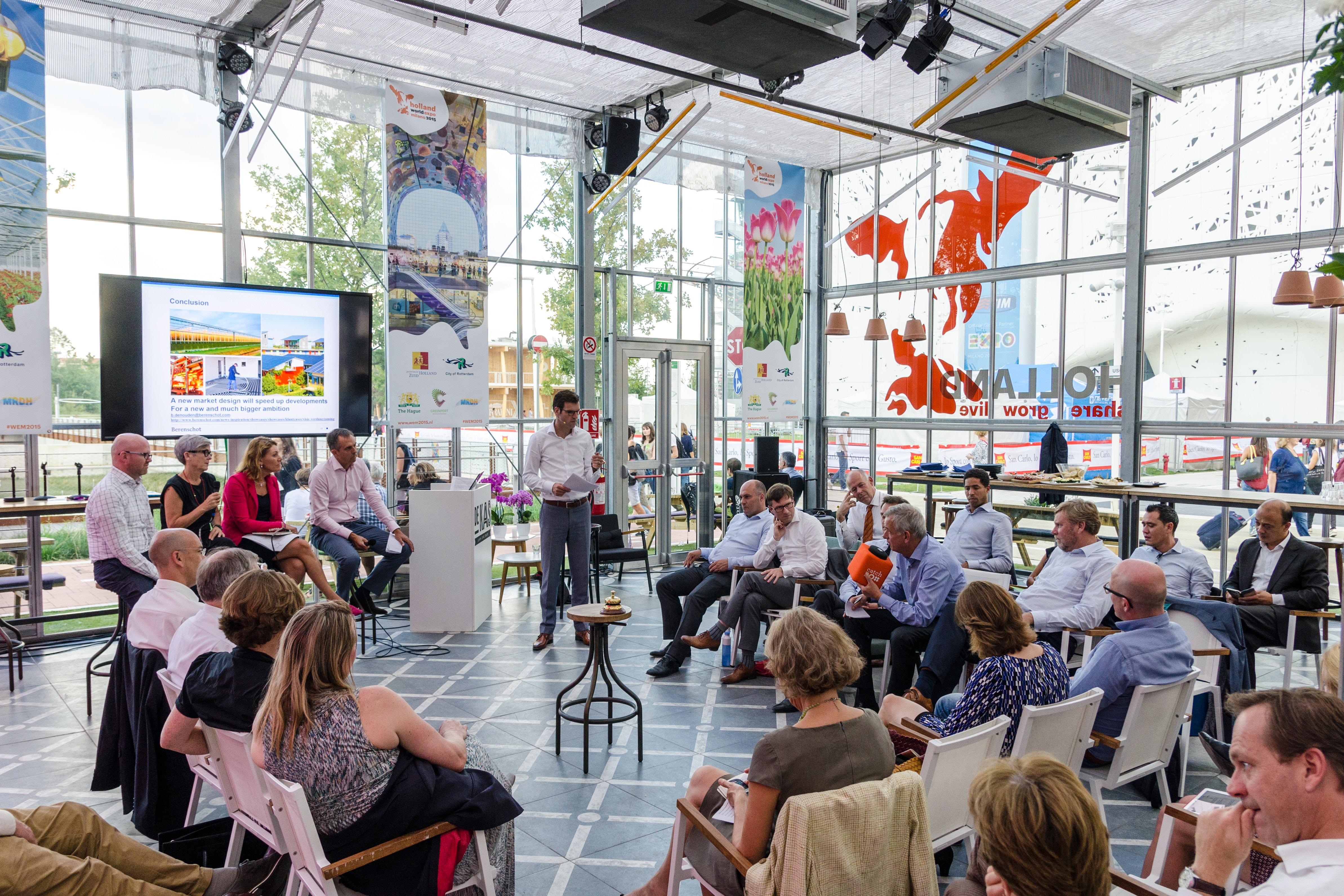 """Bijeenkomst """"Zuid-Holland en CO2-uitstoot in 2050"""""""