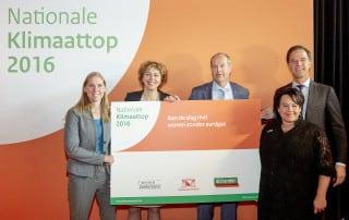 ROTTERDAM, 26 oktober 2016. Klimaattop 2016 in de van Nellefabriek FOTO MARTIJN BEEKMAN / IenM